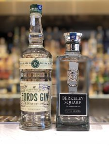 Fords Gin and Berkeley Square Gin