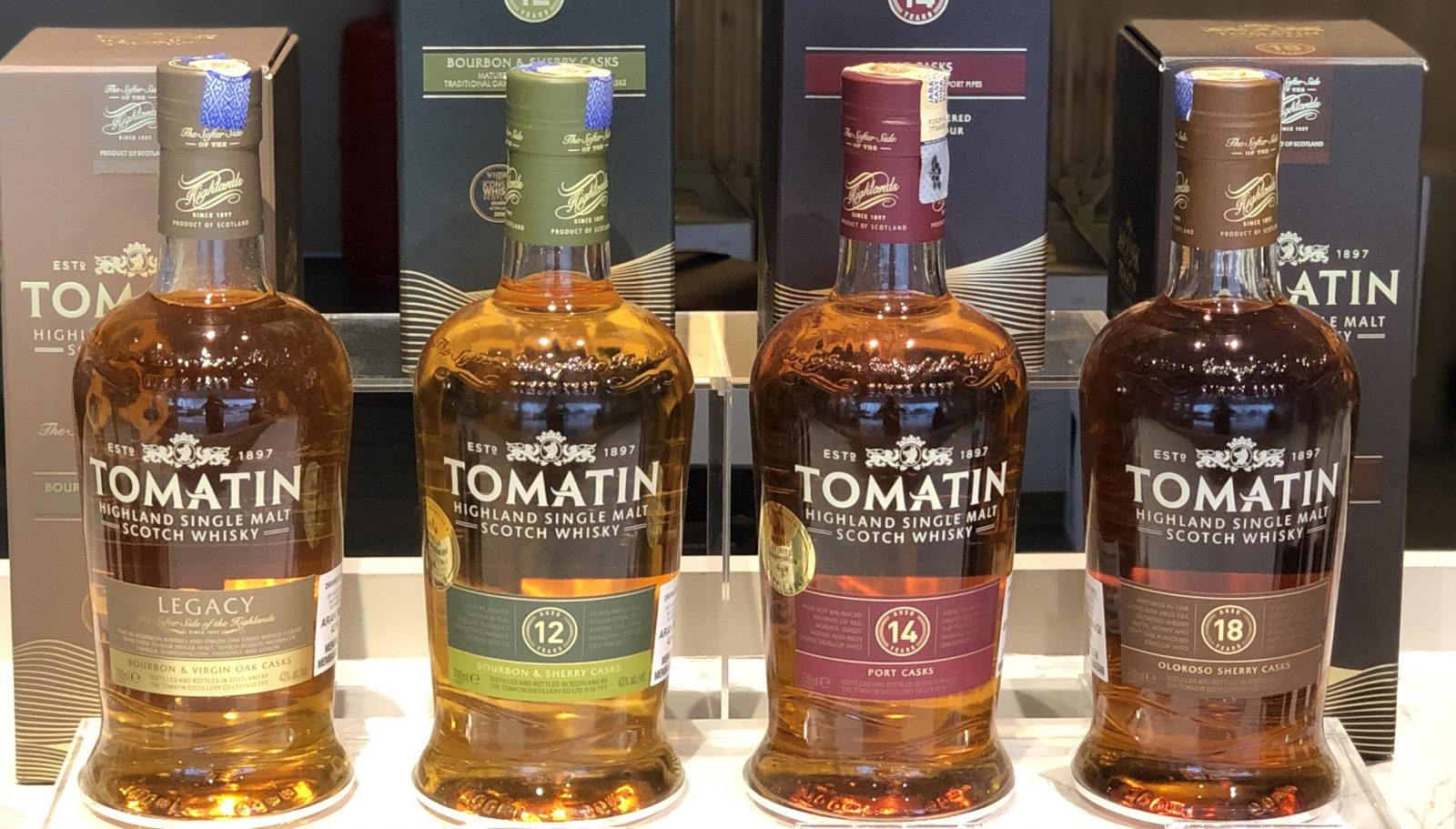 Tomatin single malt is part of March's Real Deals