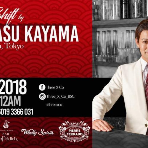 Hiroyasu Kayama @ Three X Co