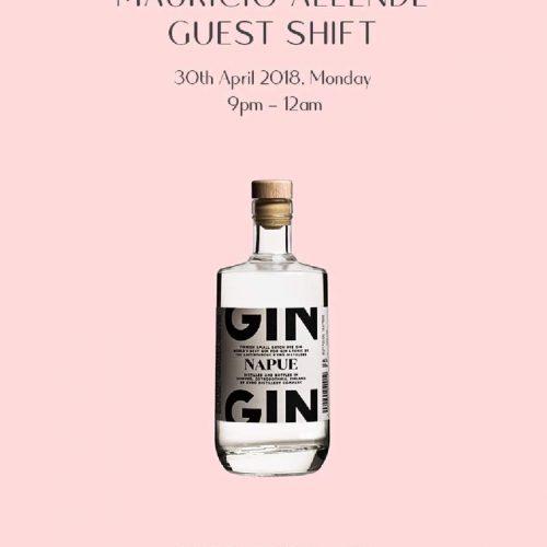 Mauricio Allende/Napue Gin @ Golden Shower