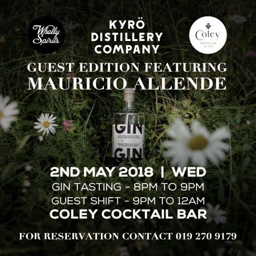 Mauricio Allende/Napue Gin @ Coley